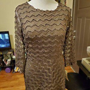 Large Brown Wrangler Dress